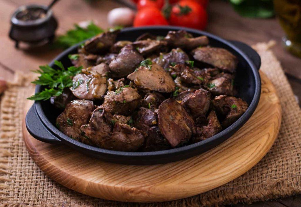 Choline Source liver